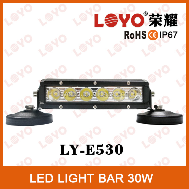 Best led light bar brand Loyo light bar mini 30W Epistar led light off road