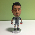Custom plastic soccer figure, Mini pvc soccer player figure, Custom soccer player action figure manufacturer