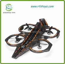 New Arriving!Wltoys Q202 2.4G 4CH 6 Axis RC Aircraft Carrier 3 in 1 Mode With LED RTF