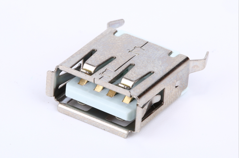female bend pin of USB connector solder pins for adapter