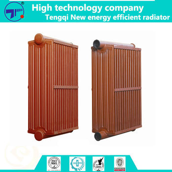 535mm, 520mm, 480mm, 310mm corrugated finned radiator