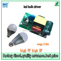 3W 5W 7W 9W 12W 14W led bulb drivers high power constant current 150mA surge protection 2.5KV