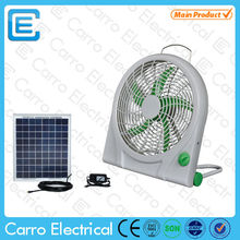 Modern design AC DC double use 10inch 12V mini battery operated mini bladeless fan with CE certification