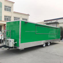 Street Fast Food Kitchen Vehicle Mobile Shop Trailer