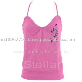 Women's fitted fashion cotton tank top