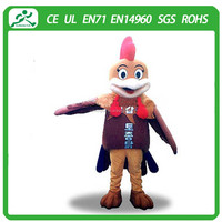 Funny chicken mascots costumes/ high quality chicken mascots/ chicken mascots for kids