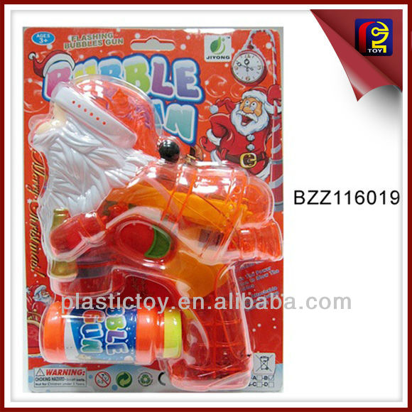 Santa Chrismas Bubble Gun With 4 flashing lights and music BZZ116019