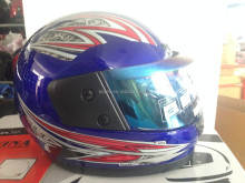 BLUE full face wholesale motorcycle helmets PAKISTAN