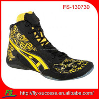 leather sports shoes wrestling shoes for sale