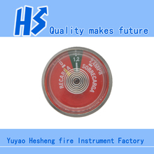 1.2 Pressure Gauge for Fire Extinguisher bourdon tube pressure gauge Spring Tube pressure gauge