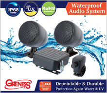 Waterproof Audio System for iPod & MP3 Player