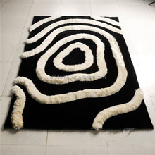 New product washable customized exhibition 3d carpet squares on sale