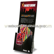 xs mini desktop flyer holder display floor stand corrugated paper cardboard brochure holders