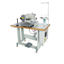 industrial programmed mitsubishi automatic upholstery sewing machine
