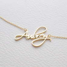 Personalized stainless steel custom logo pendant name design pendant