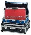 TOOLCRAFT ALUMINIUM TOOL BOX STORAGE CASE SET OF 3