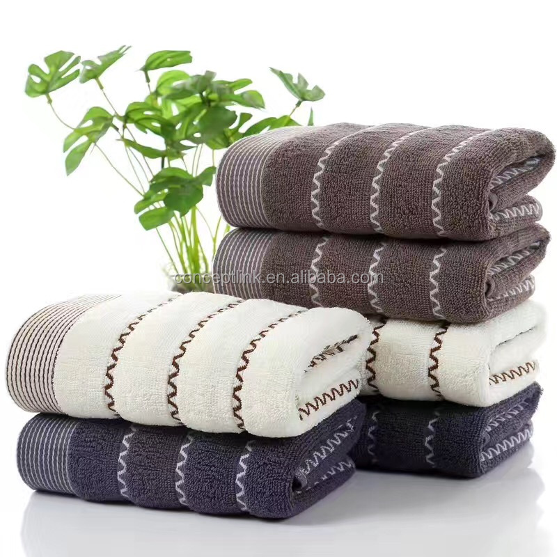 China Manufacturer Cheap Wholesale Face and Bath Cotton Towels