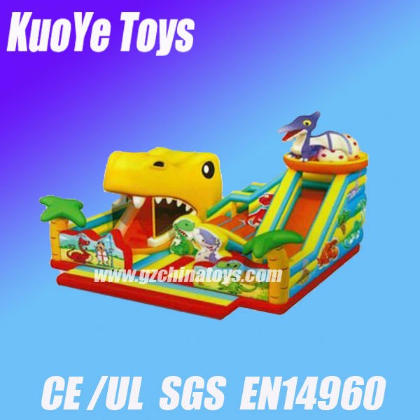 inflatable dinosaur amusement park animal kingdom bouncy castles