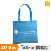 New Fashion Recycle Blue Nonwoven Foldable Shopping Bag