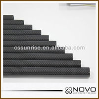 100% Carbon fiber tubing usd in highpressure pipeline 23mm*25mm*500mm