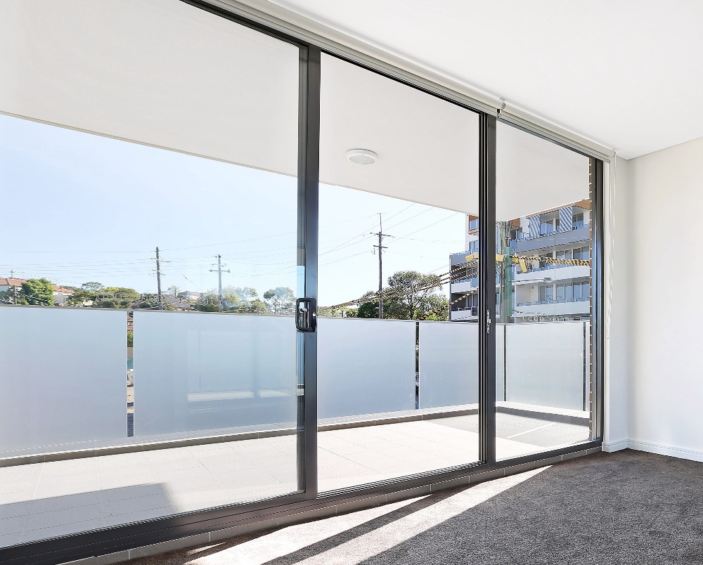 Beautiful heat insulation glass decorative sliding translucent door panels & Beautiful Heat Insulation Glass Decorative Sliding Translucent Door ...