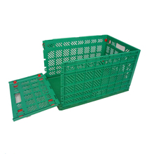 600*400mm collapsible milk crates cheap folding milk crate