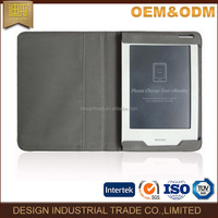 Classics oem universal PU leather black lichee pattern PU e-readers tablet cover/ case