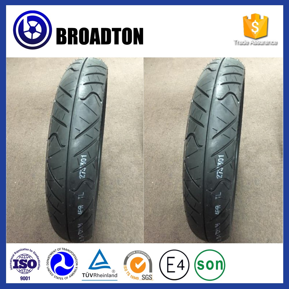 Made In China Factory Shandong Quality Rubber Scooter Tire Motorcycle Tyre 100/80-17