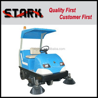 China supply driving parking lot sweeper for sale