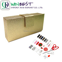 2016 Folding Small Paper Sewing Box For Sewing Kits