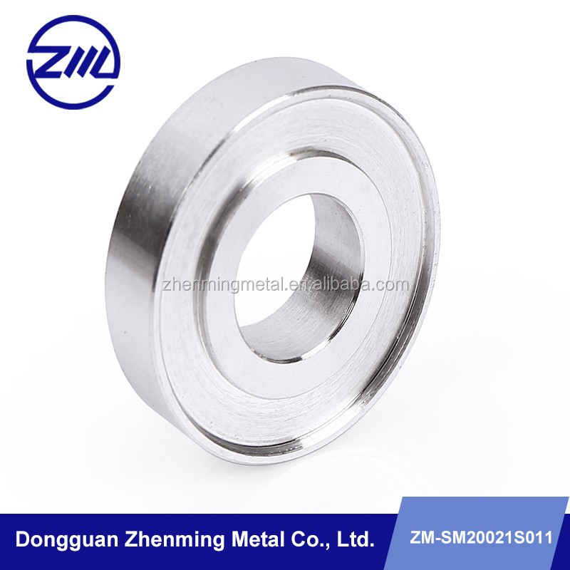 Close tolerance round bearing bushing ,stainless steel bearing CNC lathe part