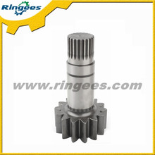 Professional china supplier provide Swing drive pinion shaft used for Komatsu pc150-6 excavator spare parts