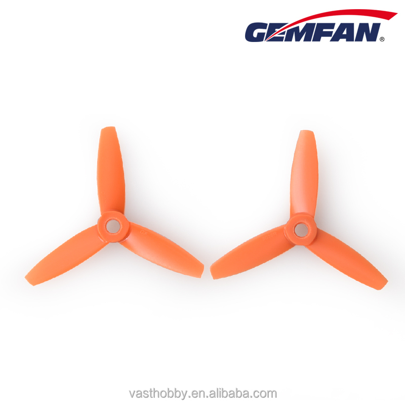 GEMFAN NEW tri Blades Props 3035 3x3.5 inch Plastic bullnose RC FPV Drone propellers for rc airplane