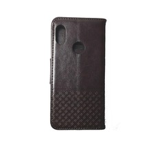 Handmade PU good quality flip phone case leather mobile phone wallet for redmi note 5 pro