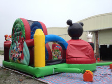 Great!!! Happy mouse inflatable funcity on sale/kids inflatable castle/moonwalk/inflatable jumping