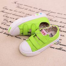 green OEM ODM sweet kids cloth shoe Fashion latest girls canvas shoes