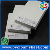 3mm pvc celuka sheet /white pvc plastic sheet/white hard pvc board