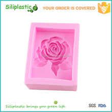 Factory price wholesale new arrival silicone rose skin soap mold