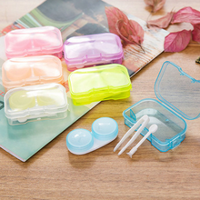 Wholesale Stock New Arrivals Simple Transparent Contact Lens Case