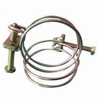 High Temp Welding Double Wire Hose Clamps For Pipe Fittings