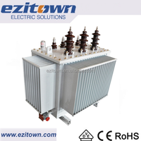 ezitown china manufacture three phase 10kva oil immersed electric power transformer