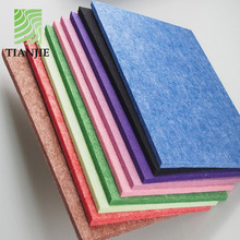 Echo reduced fob price polyester fiber types of theater acoustic materials panel