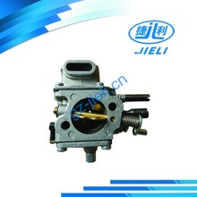 High-performance carburetor in stock chainsaw parts