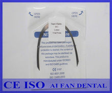 [ AiFan Dental ] hot sale 012Lower Dental supplies Round Rectangular Square Ovoid Natural Form Orthodontic Niti wire