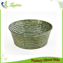 made in china cheap oriental retro7 inch wide mouth shallow bowl shaped flower pot for sale