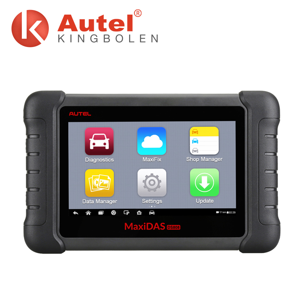 Autel MaxiDAS DS808 Automotive Diagnostic & Analysis System ALL electronic systems live data ECU programming upgrade from DS708