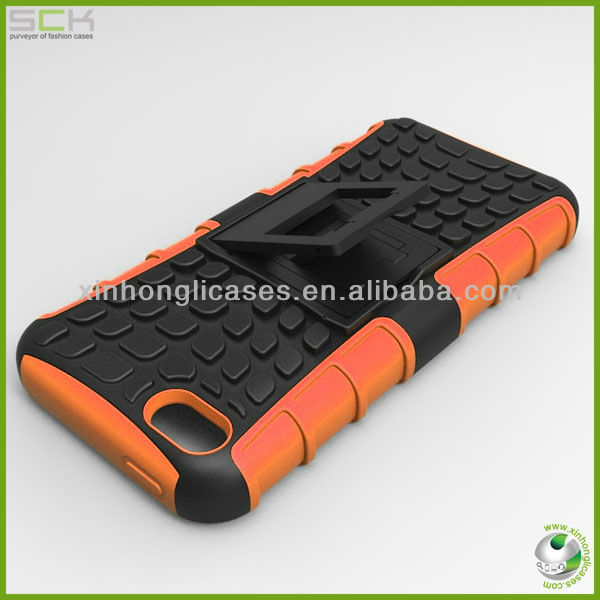 For iPhone 5c for iphone mini holster combo stand pc silicone case cover
