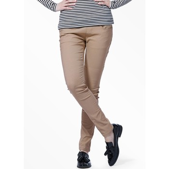 Fleece Colour Intense Skinny Leg Stretch Maternity Pants