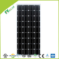 High efficiency 100W mono solar panels for sale