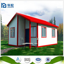 Small house light steel structure prefab sandwich panel villas